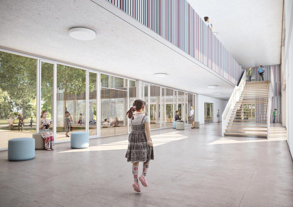 Wettbewerb 'Grundschule Gehrden', Interior | 2.Preis